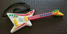 Vintage My First Kawasaki Guitar Toy Shoulder Strap Music Sounds Tested Works