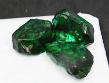 Natural Certified Uncut 88.60 Ct lot Colombia Emerald Rough Loose Gemstone