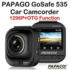 PAPAGO GoSafe 535 SuperHD 1296P Car Camcorder Dash Camera◎160° Wide/OTG/APP+Gift