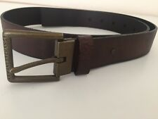Armani Exchange Leather Belt Men BROWN size: 32, 40