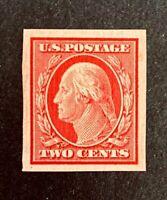 US Stamp, Scott #344, 2c 1908 XF/Superb M/NH, PO fresh, nice margins