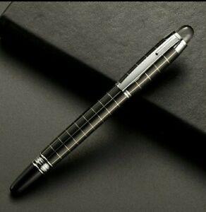 Homage pen, a HonC Ballpoint Pen. Black and white check. UK SELLER