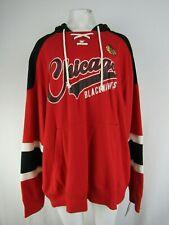 Chicago Blackhawks NHL Women's Plus-Size Pullover Sweatshirt