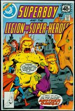 Dc Comics Superboy And The Legion Of Super-Heroes #251 Whitman Variant Fn 6.0