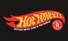 Hot Wheels Flag Banner 3'X5' Mattel Toys: FAST FREE SHIPPING