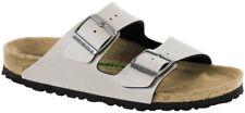 Birkenstock Sandale Arizona Pull Up Stone Vegan Birko-Flor Schmal Unisex