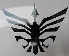 Odins símbolo dioses nórdicos Mitos Magia stickers/car/van / window/decal 5370 Negro
