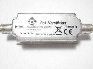 1-50x Telefunken Sat Signal Verstärker Leitungsverstärker Antennen Koax TV  LNB