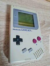 Nintendo Game Boy Weiß Handheld-Spielkonsole, gebraucht, funktioniert ohne OVP