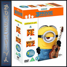 MINIONS COLLECTION - DESPICABLE ME 1 & 2 PLUS MINIONS   *BRAND NEW DVD BOXSET***