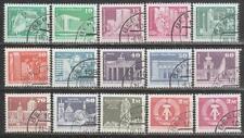 Germany DDR - 1973 Buildings & Monuments Complete Set 15v. Canceled