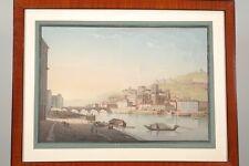 Vue de Lyon par Johann Ludwig BLEULER