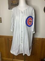 Chicago Cubs Authentic Jersey MLB Majestic Ryan Theriot #2 Sewn Men's 52