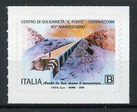 Italy Stamps 2018 MNH Il Ponte Centro di Solidarieta Bridges 1v S/A Set