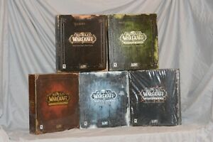 World of Warcraft Collector's Editions Collection - VANILLA, BC, LC, CATA, MOP