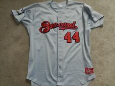 2013 Brevard County Manatees Game Used Road Jersey #44 Cody Hawn Brewers