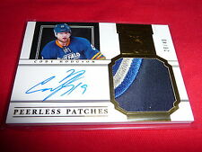 11-12 Dominion Peerless Patches Cody Hodgson RC 4CLR Auto 28/40 Rare Rookie !!