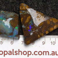 Boulder Opal Rough Material from Queensland, Australia - Ro1992