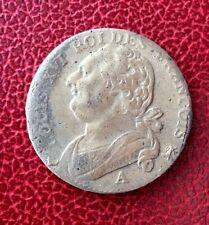 France - Louis XVI - Constitution -Très Jolie Monnaie 12 Deniers 1792 A -léopard