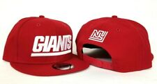 New Era Red New York Giants  9Fifty Snapback Hat