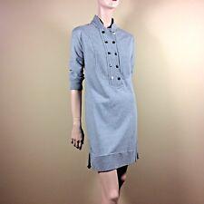 CETIZEN OF HUMANITY Damen Sweat Kleid M 38 Grau Casual Sporty Urban Style