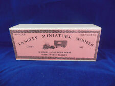 Langley Miniature Models Ref VO/6T/SC Scammell 6 Ton Mech Horse Covered Trail