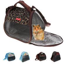 Pet Small Animal Carrier Travel Tote Bag Hamster Gerbil Rat Shoulder Pack