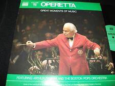ARTHUR FIEDLER<>OPERETTA° TIME LIFE N0.11<>LP Vinyl~USA Pressing<>STLS -60011-J