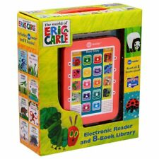 NEW The World of Eric Carle Electronic Reader & 8 Books Read Aloud Library Set!