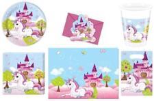 Licorne Set de Fête Serviettes table plaque tasses Nappe Sacs cartons