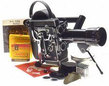 REX4 BOLEX H16 Reflex 16mm film camera Som Berthiot Zoom lens 1:2 f=17-85mm kit
