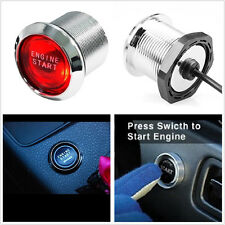 12V Red LED SUV Engine Start Push Button Switch Ignition Starter Kit Universal