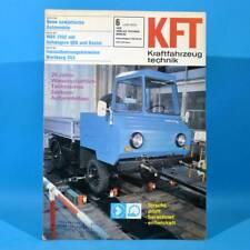 DDR KfT Kraftfahrzeugtechnik 6 1976 Shiguli-Kombi IFA W 50 QEK Junior Bastei 26