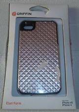 Griffin Elan per iPhone 4 Form argento/nero (1st CLASSE P + P)