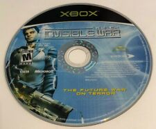 Original Xbox Deus EX Invisible War Game (Disc Only) By Eidos