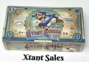 1-Sealed Pack 2020 Topps Gypsy Queen Baseball Hobby Box NEW LOOK!