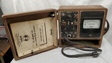 Vintage Motorola P 8501 A Test Set Meter In A Box Un Tested Read