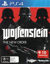 Wolfenstein The New Order  - PlayStation 4 game - BRAND NEW