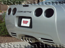 97-04 C5 Corvette Tinted Tail Light Covers Z06 LS1 LS6 Blackouts Smoked Cover