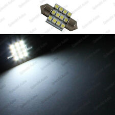 27mm 3528 Xenon BRIGHT WHITE LED LIGHT 12SMD Festoon Map Dome (1 Piece)