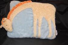 Russ Giraffe Yellow Orange Blue 9x12 Pillow Baby Room Decor Plush Stuffed Toy