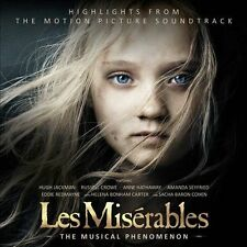NEW Les Miserables: Highlights from the Motion Picture Soundtrack (Audio CD)