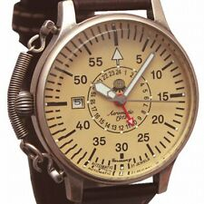 Automatic RETRODESIGN 2.WW 24H Observer AVIATOR Feather Crown protect A1394