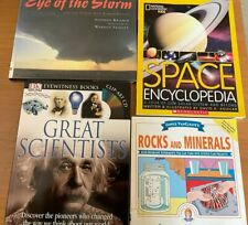 Non-fiction lot Middle Grade Science classroom homeschool 4 books