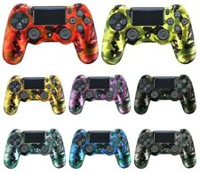 Sony PS4 dualshock 4 joysticks Camouflage Silicone case Rubber Gel Skin Procter