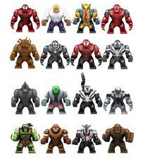 Venom & Super Heroes Marvel Comics Big Size Figure Lego Building Blocks Toy