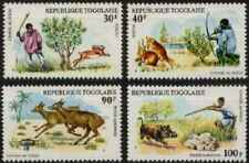 Timbres Animaux Togo 843/4 PA252/3 ** (35826)