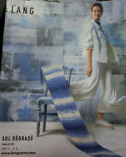 Lang Yarns  Sol Dègradé, 6 Modelle im Farbverlauf, 4-sprachig #2195