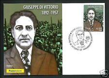 Giuseppe Di Vittorio ( Sindacalista ) - 2017 Cart. Filatelica Uff. Poste Ital.