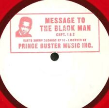 """PRINCE BUSTER - Message To The Black Man  (10"""") novelty coloured vinyl"""